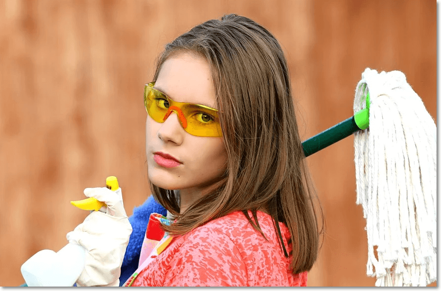 집안을 청소하는 꿈